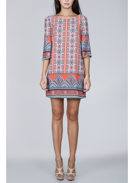 Ark & Co. Ark & Co printed shift dress, sale item, Was $69