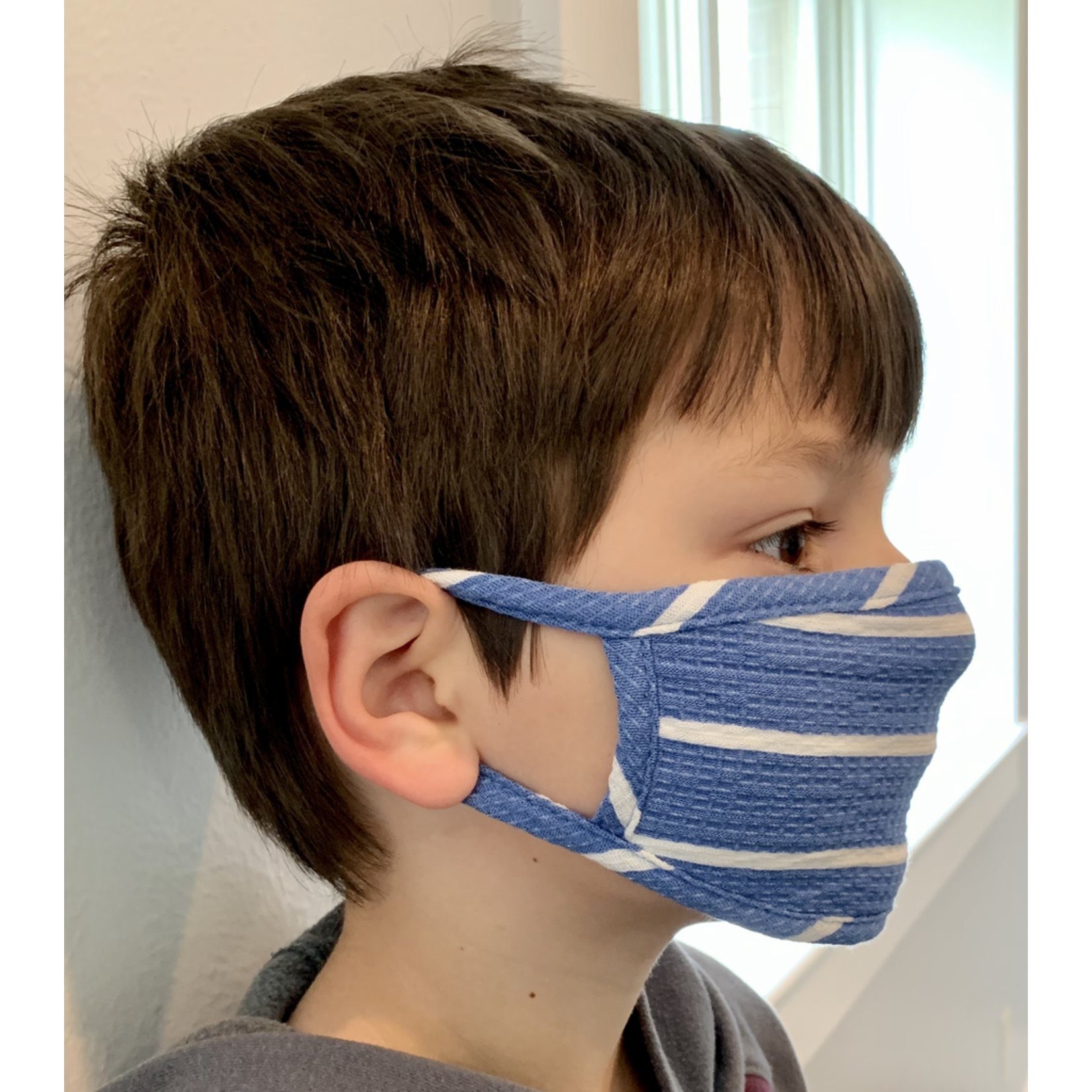 Coin 1804 Kids Blue Striped Mask