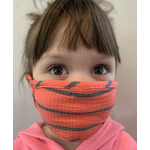 Coin 1804 Kids Coral Striped Mask