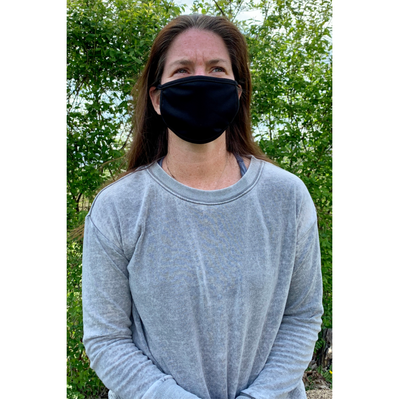 Coin 1804 Solid Black Mask