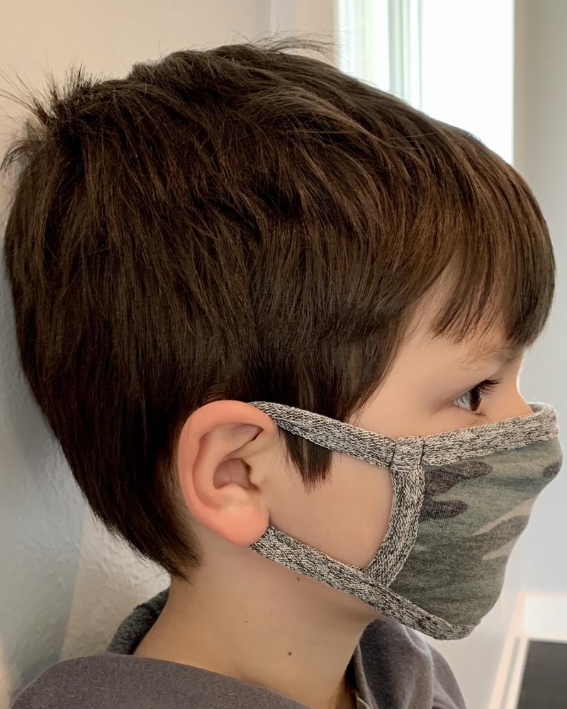 Coin 1804 Kids Basic Camo Mask