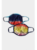 Coin 1804 Two Pack Tie Dye Mask