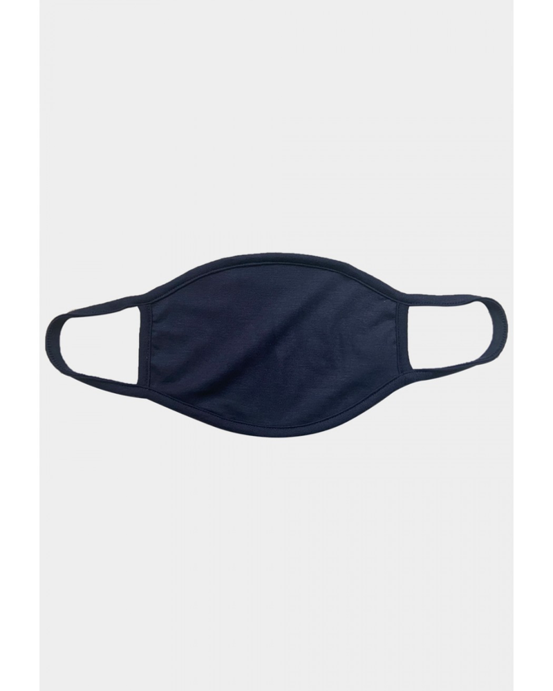 Coin 1804 Solid Navy Mask