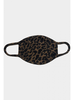 Coin 1804 Cozy Mask Animal Print Brown
