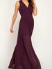 She & Sky Crochet bodice maxi dress