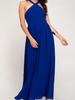 She & Sky Halter Maxi Dress