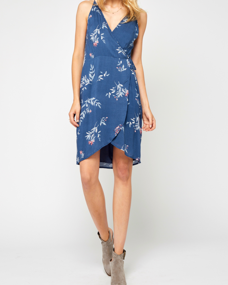 Gentle Fawn Printed Wrap Dress, sale item, Was $100