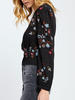 Gentle Fawn Cropped Floral Blouse, sale item, Was $89