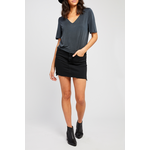 Gentle Fawn Slit Detail Top