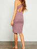 Gentle Fawn Ribbed Cross Back Dress, sale item, Was $64