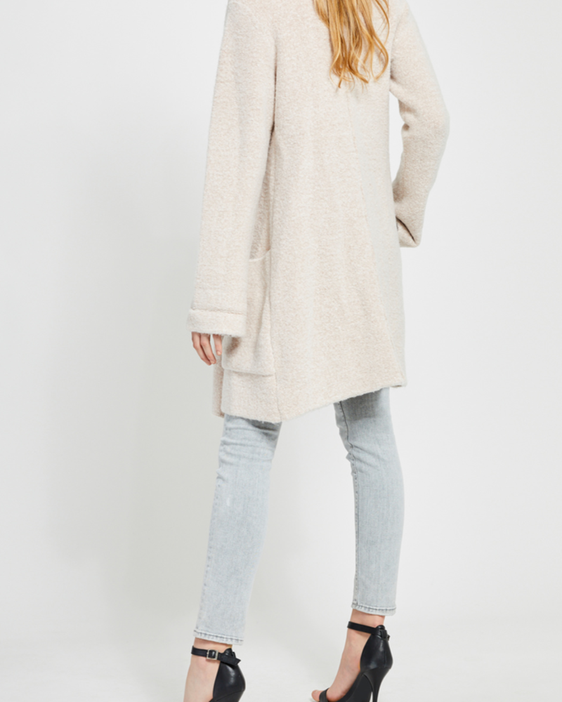 Gentle Fawn Open Cardi Sweater with Pockets - P-8757