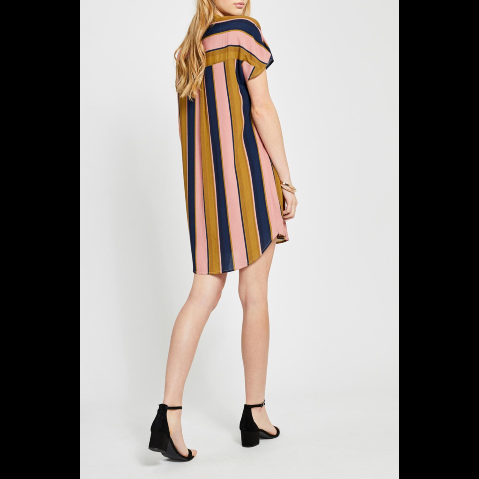 Gentle Fawn Wide Stripe dress, sale item, Was $100
