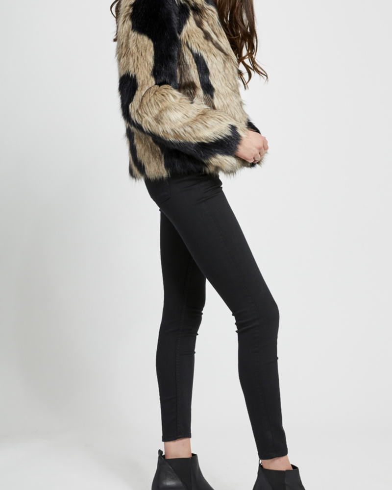 Gentle Fawn Thick Faux Coat, sale item, Was $149