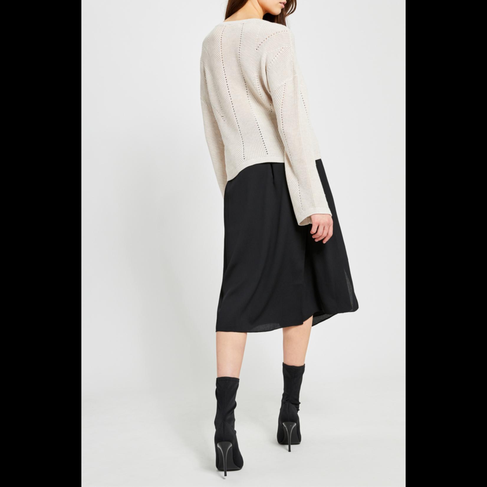 Gentle Fawn Flare sleeve sweater