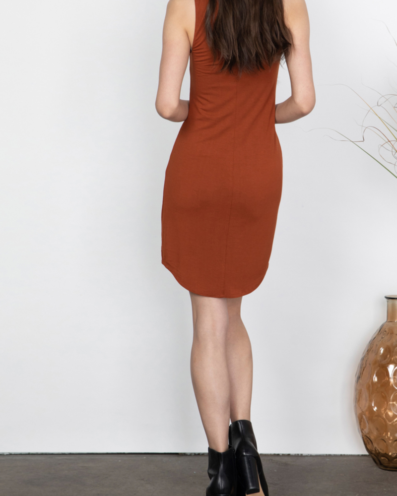 Gentle Fawn Fitted tank dress