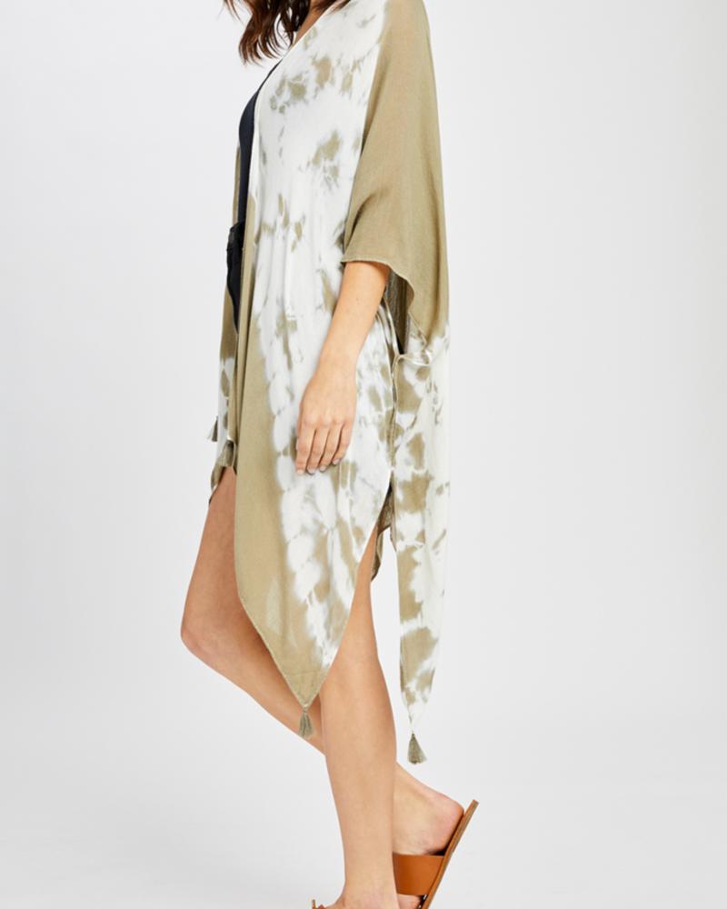 Gentle Fawn Tie Dye Kimono