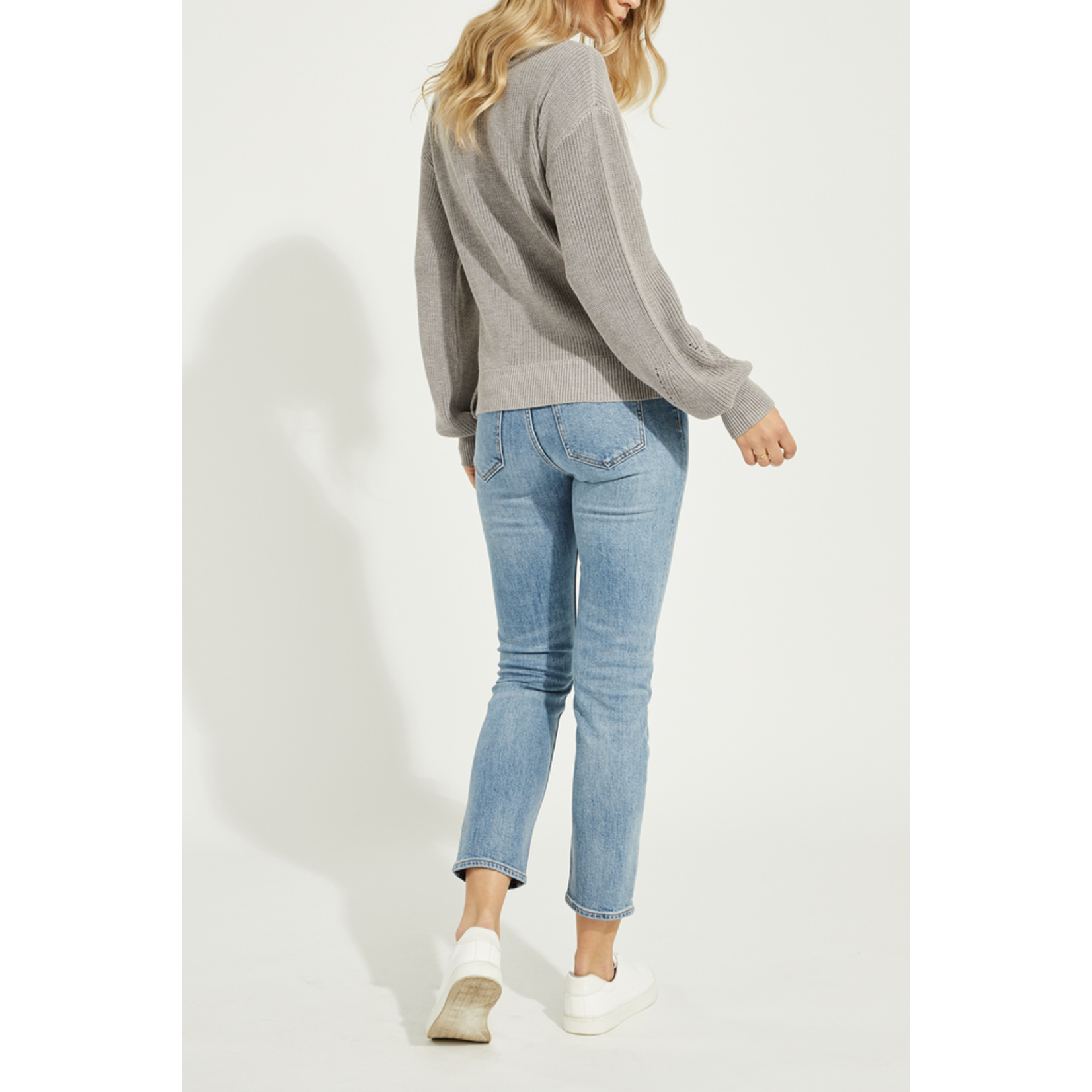 Gentle Fawn Wrap front sweater