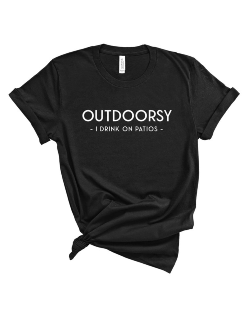 Type A Tees Outdoorsy Tee, sale item, was $24