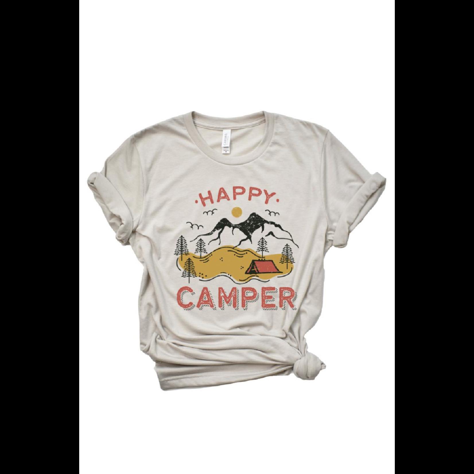 Type A Tees Happy Camper Tee