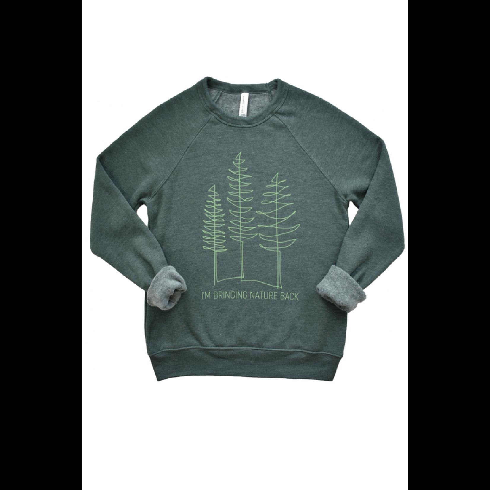 Type A Tees Nature Back Sweatshirt