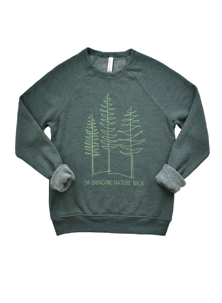 Type A Tees Nature Back Sweatshirt