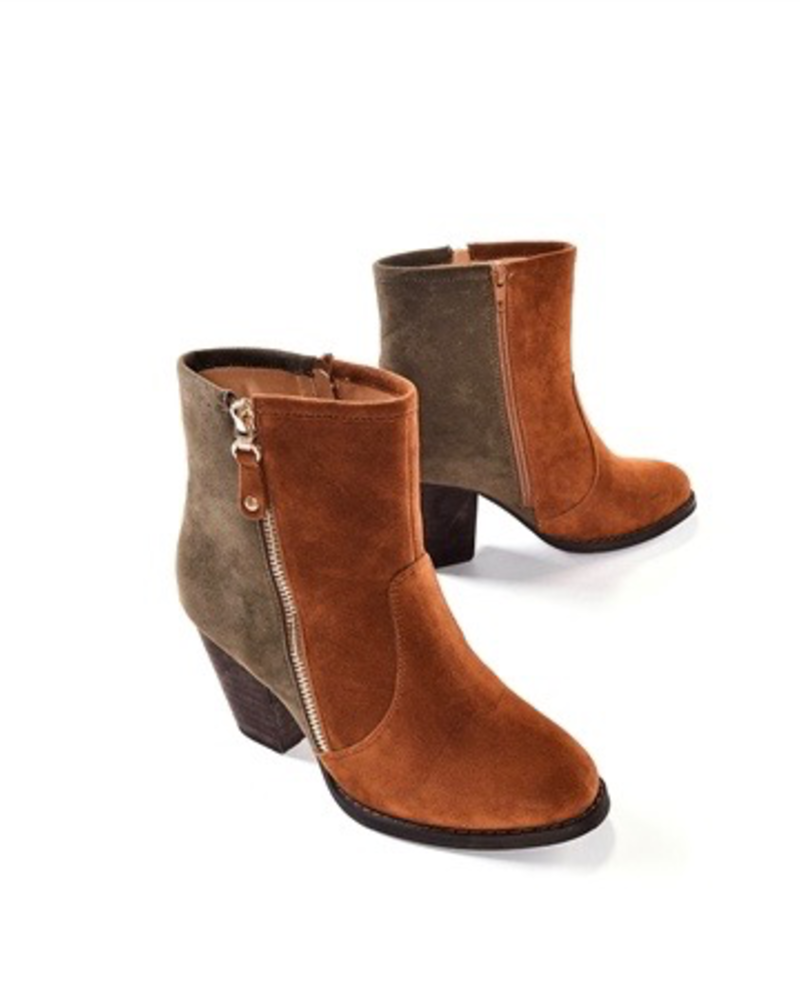 Charlie Paige Charlie Paige Zip Up Bootie
