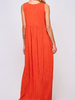 Peach Love CA Flowy maxi dress