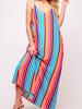 Peach Love CA Multicolor Maxi Dress