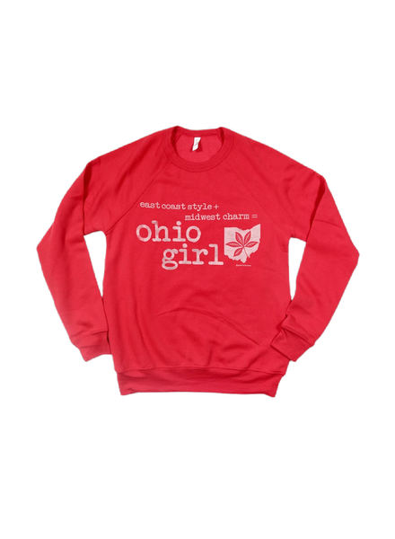 Trend Boutique Crewneck Ohio Girl Sweatshirt