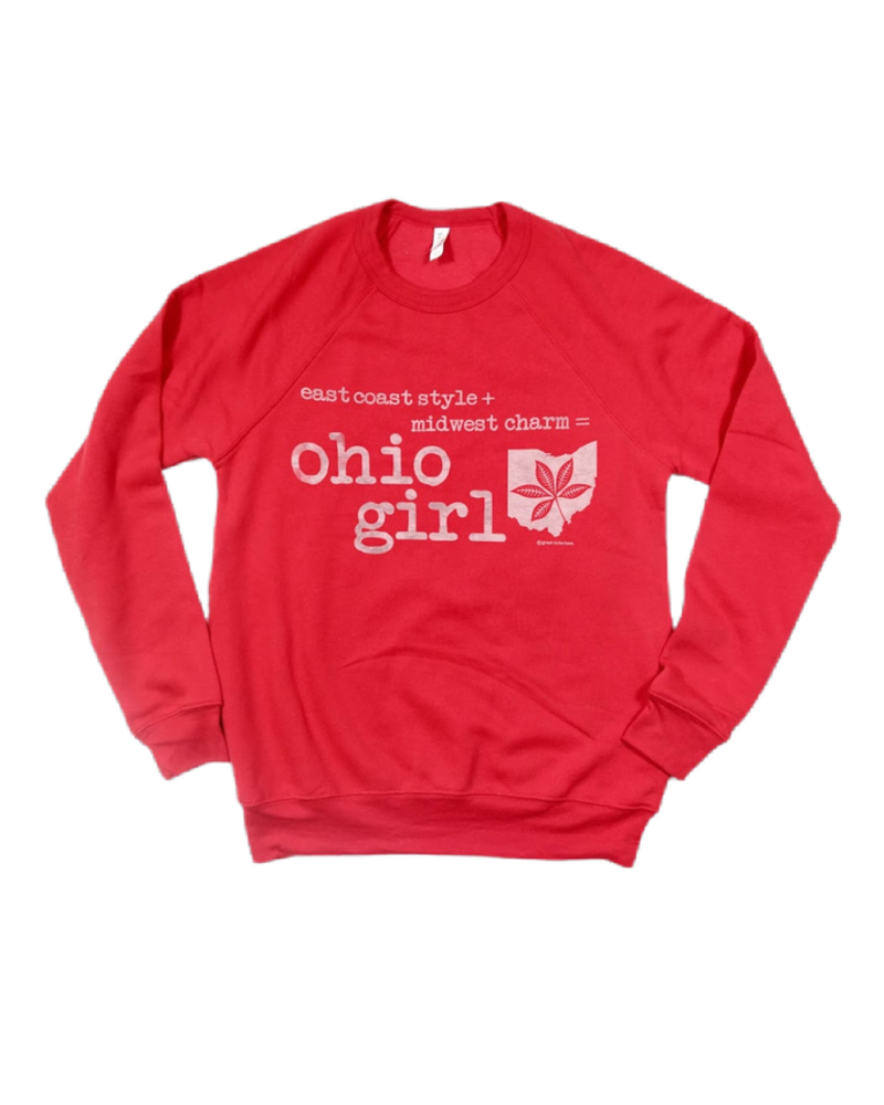 Trend Boutique Crewneck Ohio Girl Sweatshirt