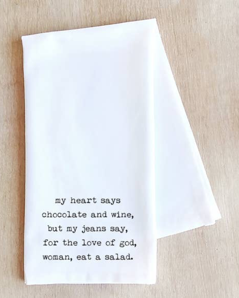 Devenie Designs Salad Tea Towel
