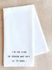 Devenie Designs Hi To Dogs Tea Towel