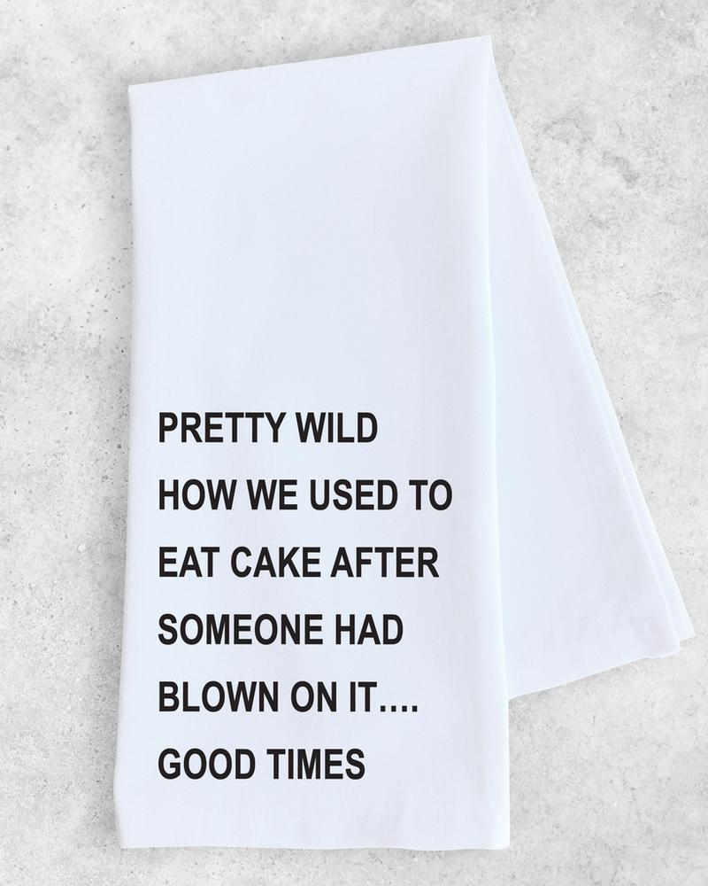Devenie Designs Blow on Cake Tea Towel