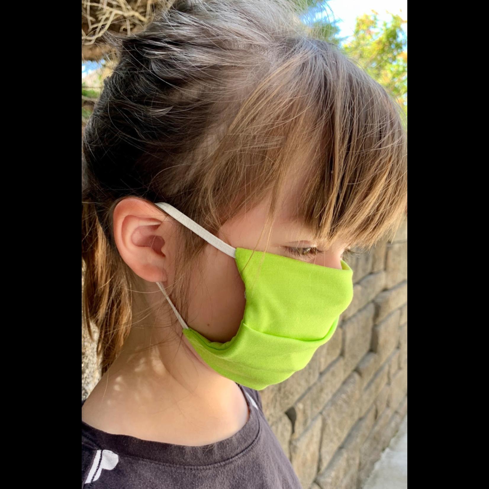 American Mask Project Kids Solid Lemon Lime Mask