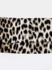American Mask Project Adult White and Brown Cheetah Mask
