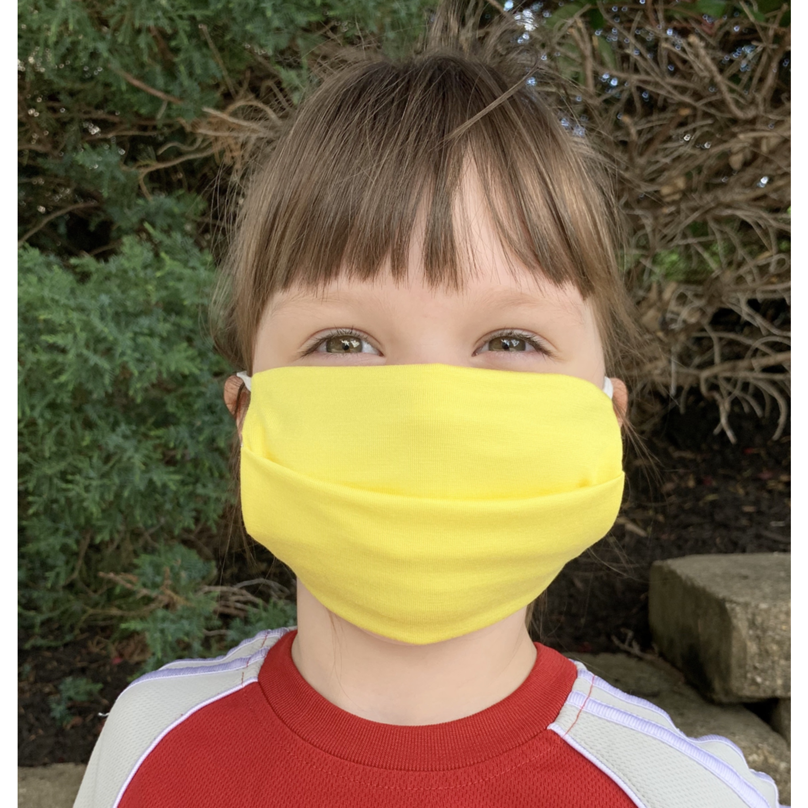 American Mask Project Kids Solid Yellow Mask