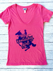 Great to Be Here Tees Kentucky Girl Triblend SS V-Neck Tee