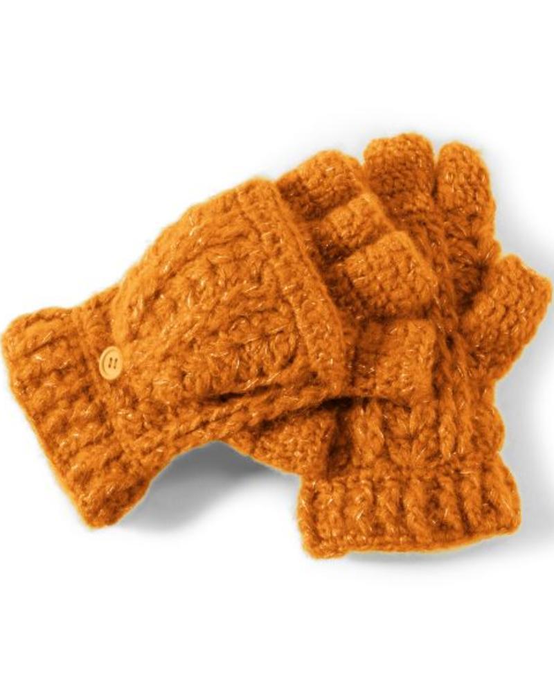 San Diego Hat Company San Diego Hat Co Women's Fingerless Gloves - Orange