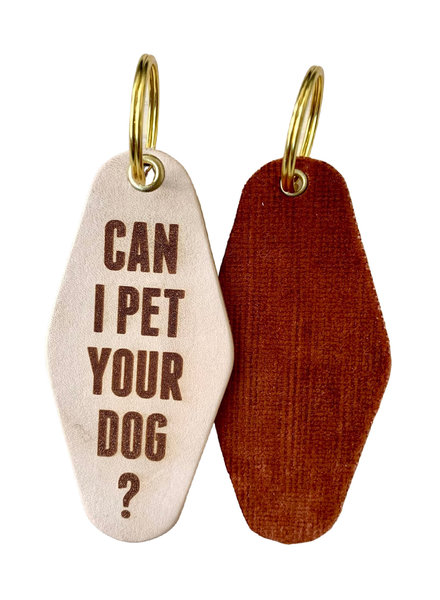 Freshwater Design Company Pet Dog Keychain