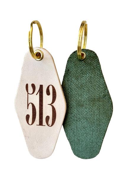 Freshwater Design Company 513 Keychain