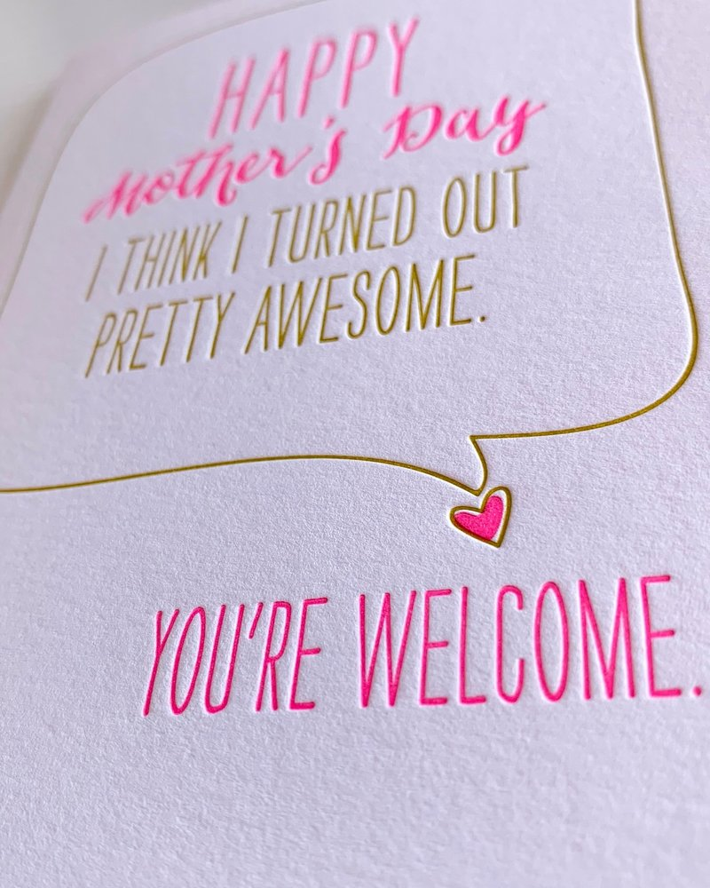 DeLuce Design Funny Mother's Day Card