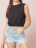 Entro Sleeveless crop top