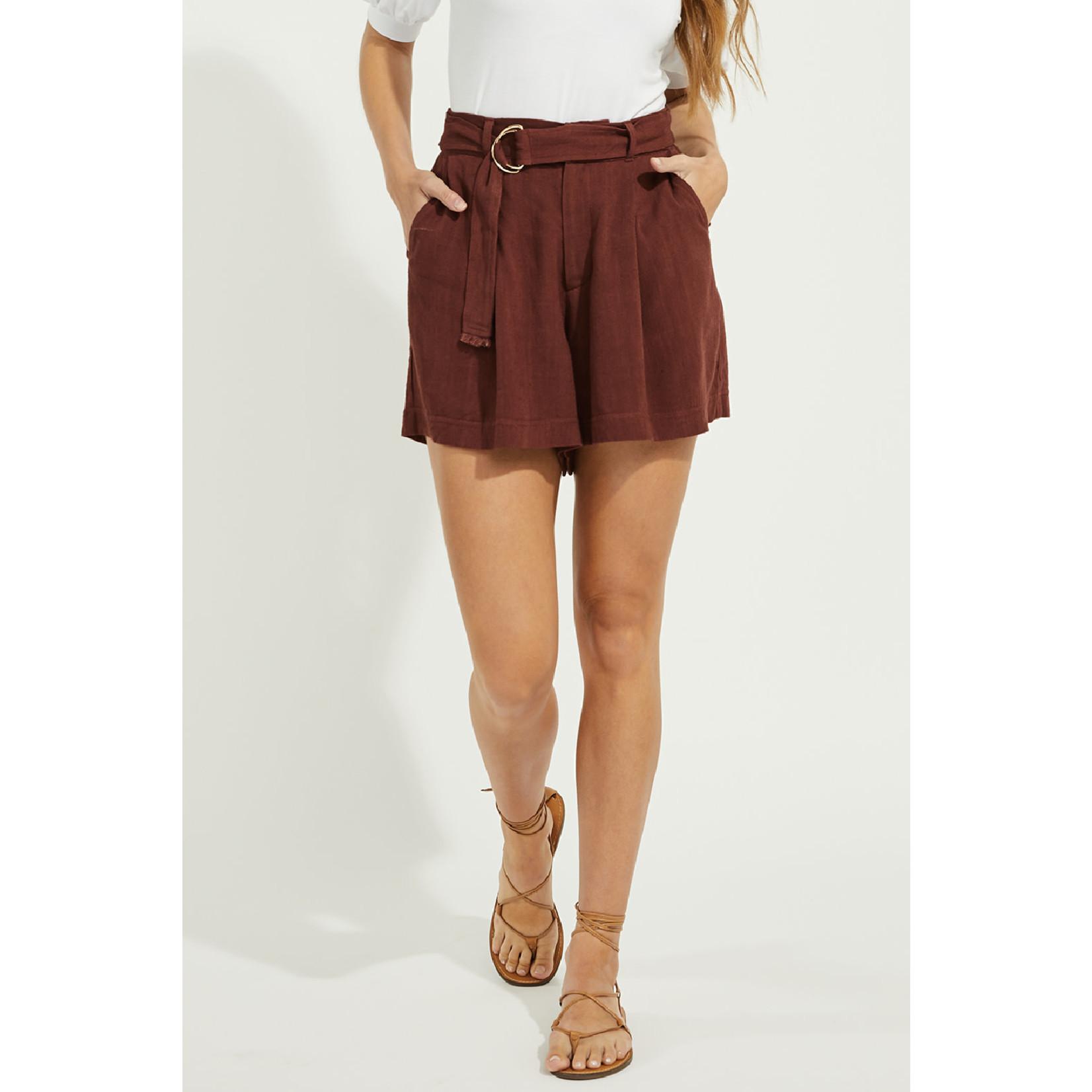 Gentle Fawn Linen Blend Shorts