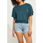 Gentle Fawn Back Twist Top