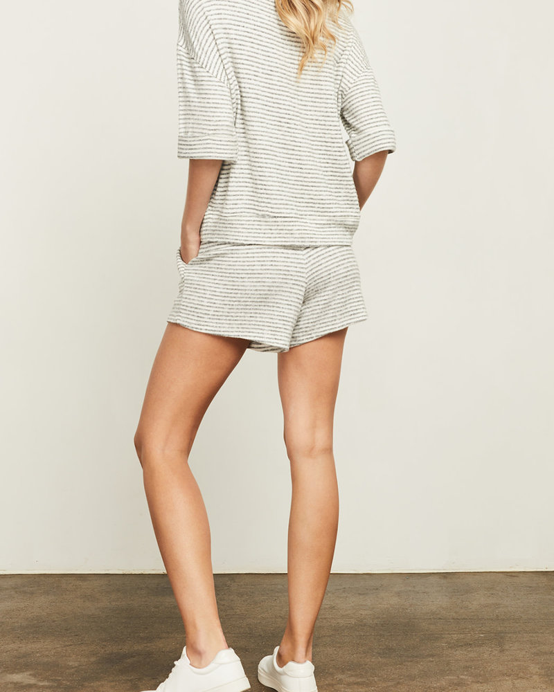 Gentle Fawn Striped TriBlend Top