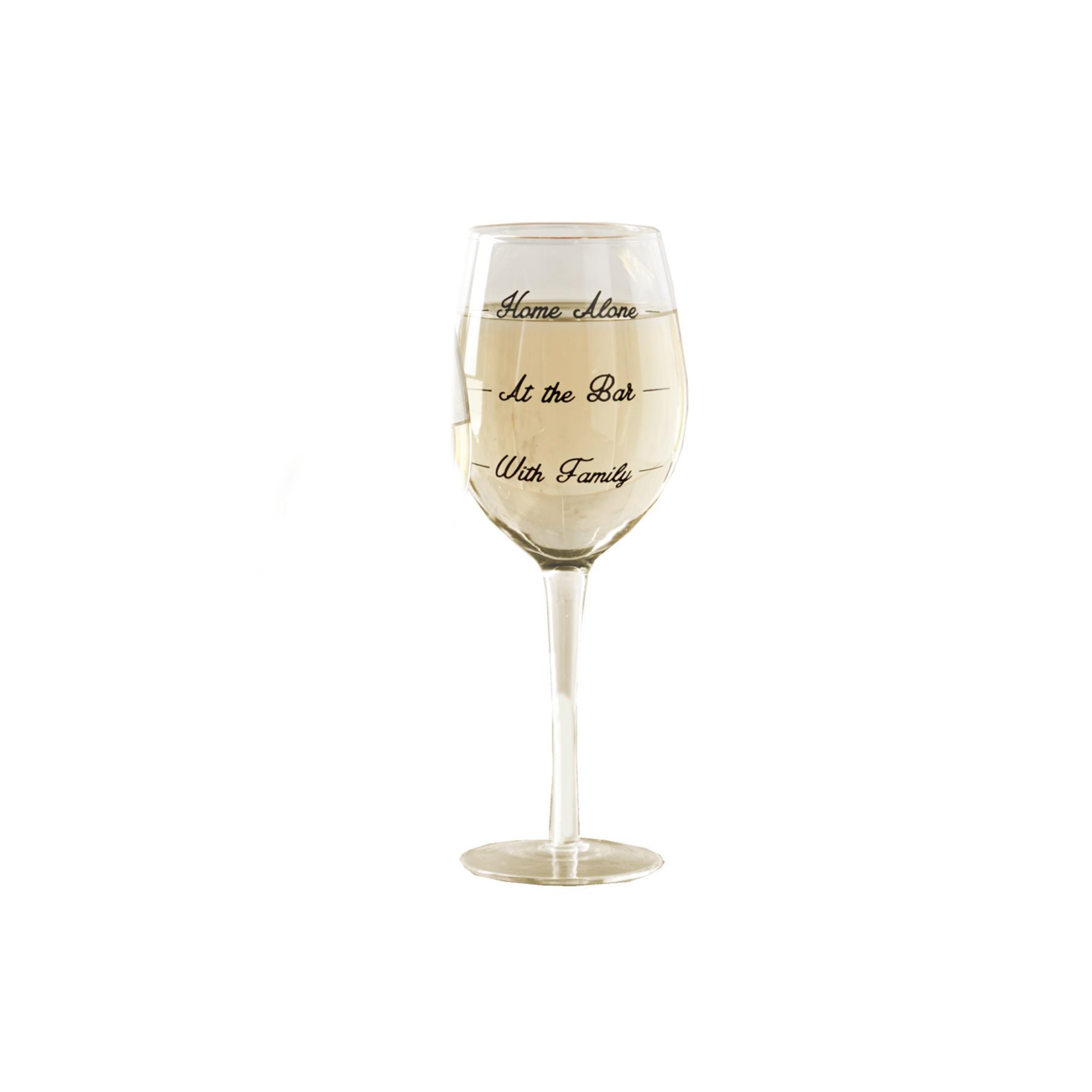 Two's Stemmed Wine Glass