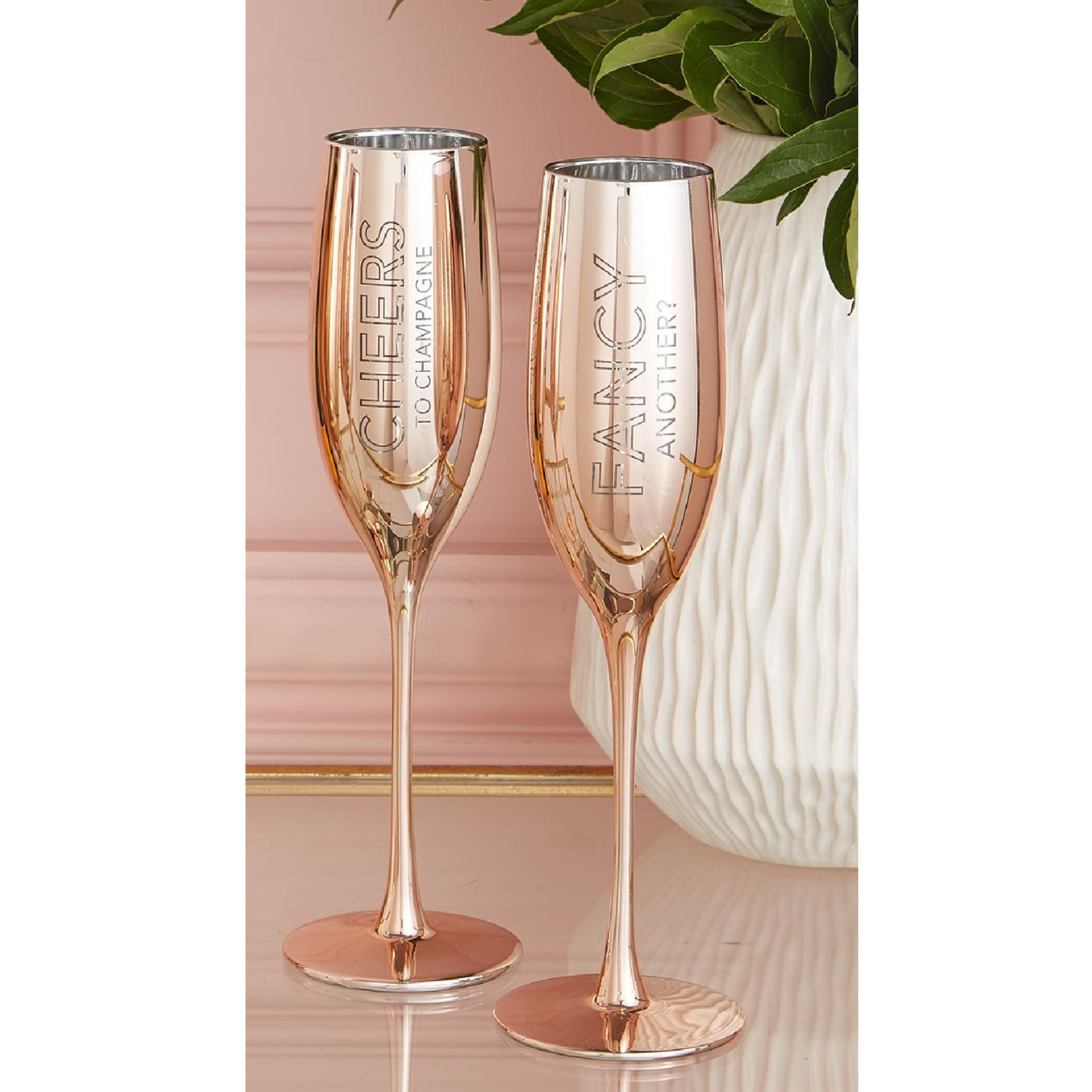 Two's Champagne Glasses