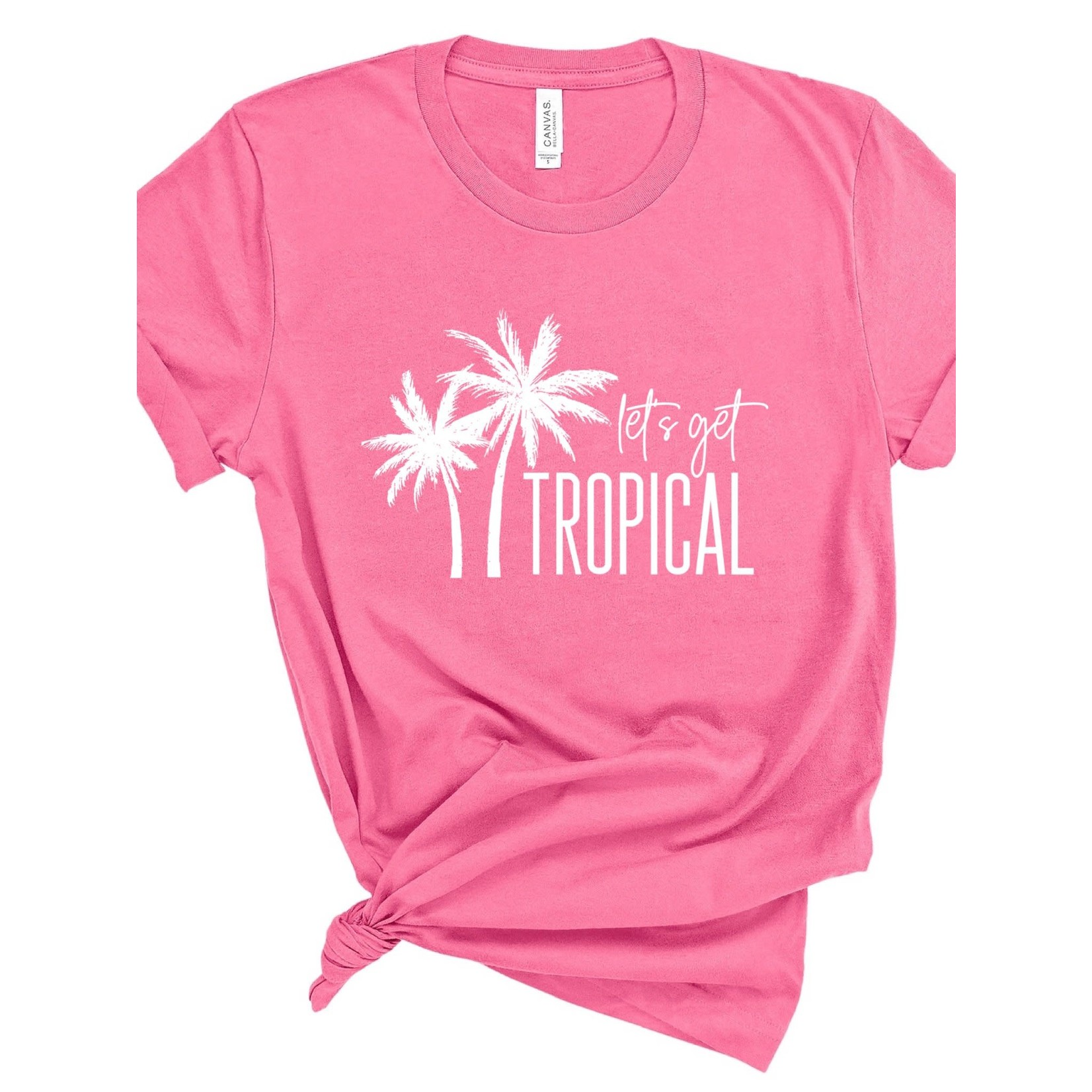 Type A Tees Let's Get Tropical Tee