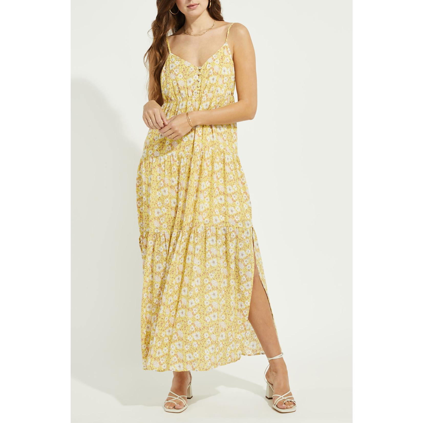 Gentle Fawn Floral Print Maxi Dress