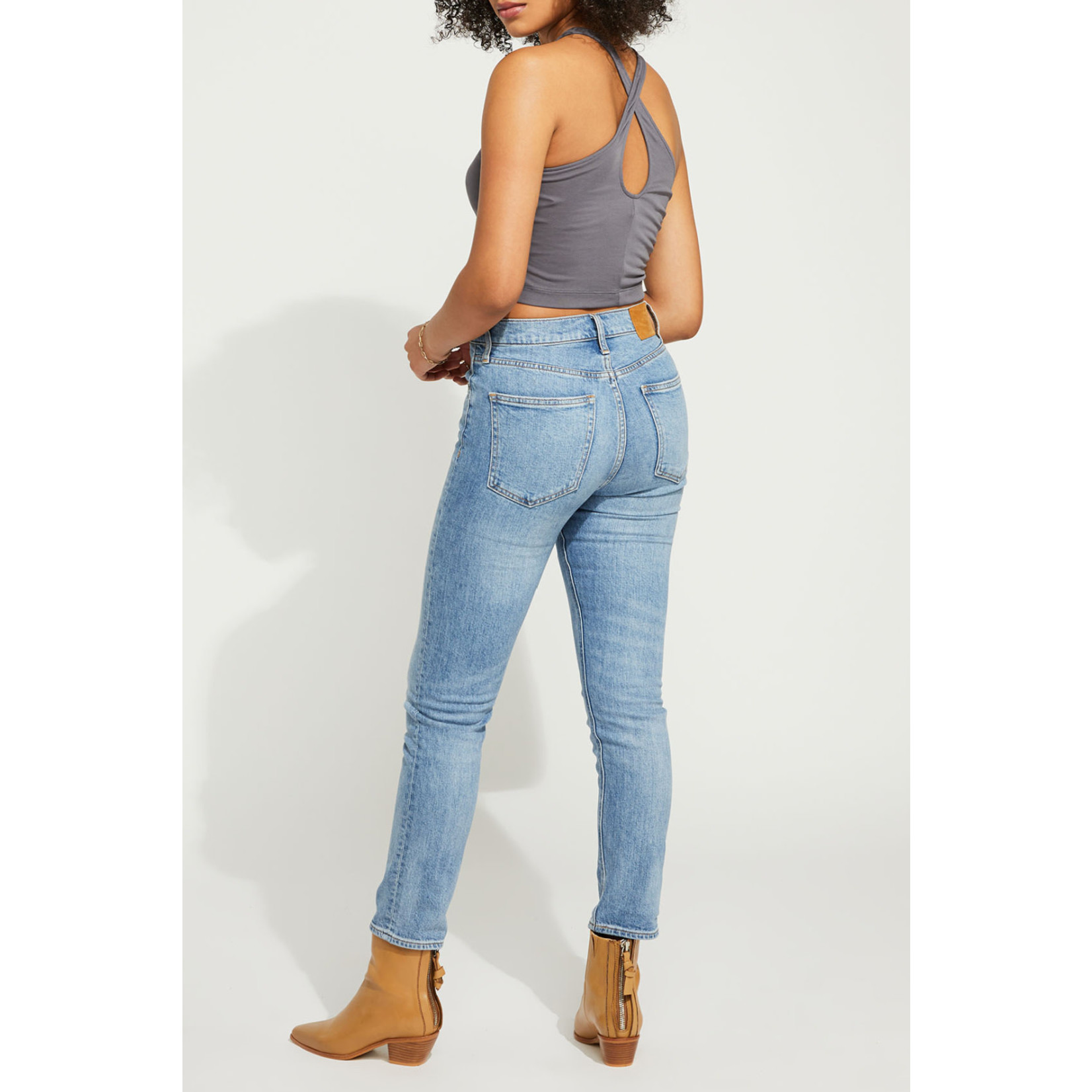 Gentle Fawn Fitted Cross Back Tank